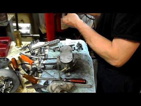 Fred's 2 stroke motorized bicycle engine rebuild #2 Putting it back together