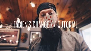 FABIEN'S CHANGE // TUTORIAL (color change)