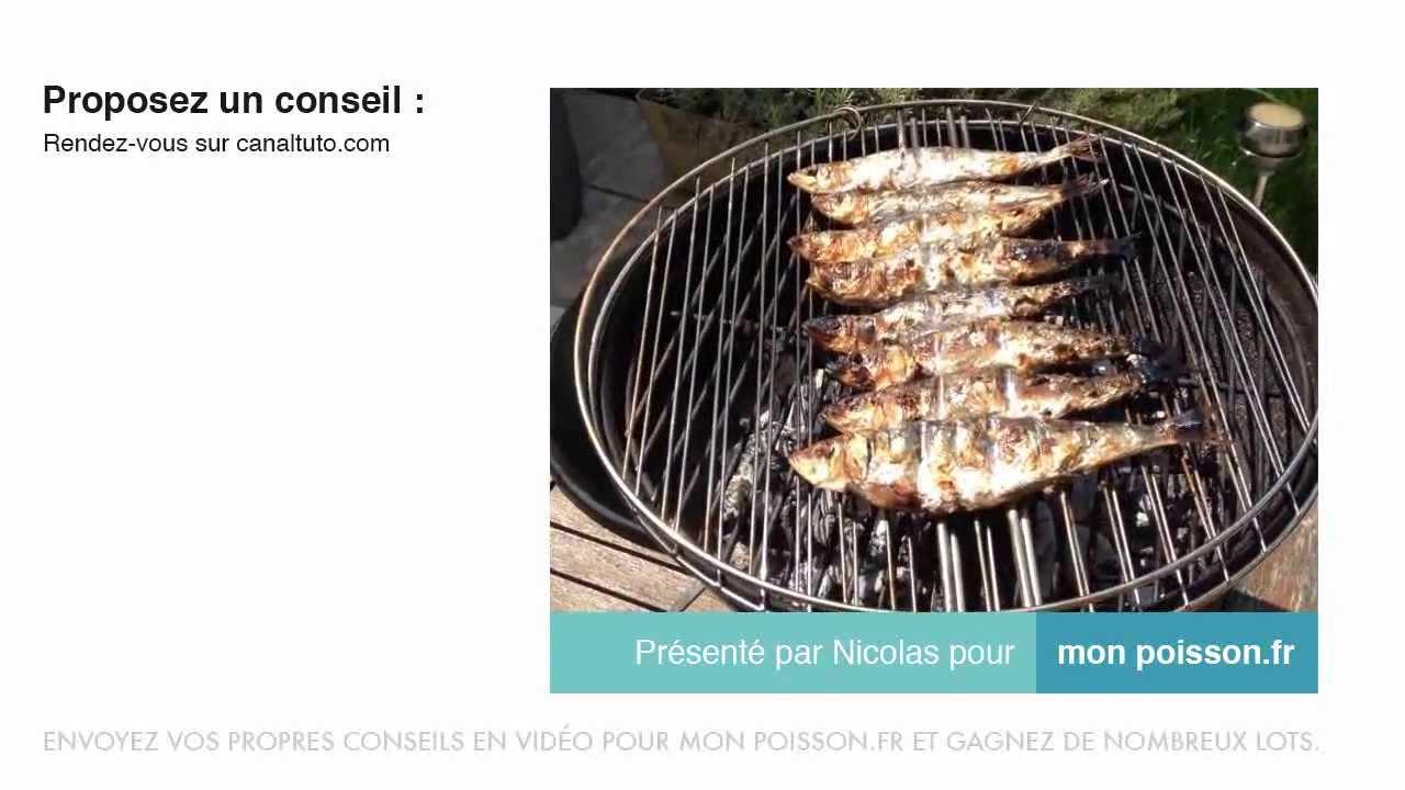 Comment faire griller des sardines au barbecue youtube - Comment cuisiner des filets de sardines ...