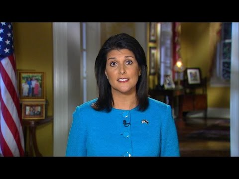 SC Governor Nikki Haley Delivers GOP Response to SOTU