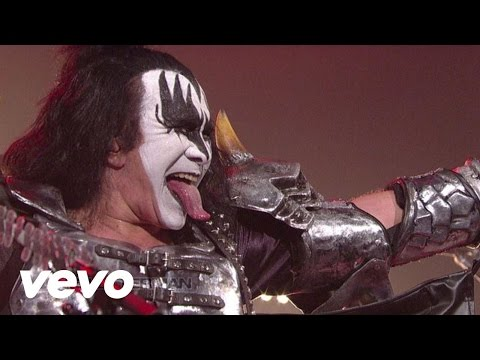 KISS - Hell Or Hallelujah (Live @ Letterman, 2012)