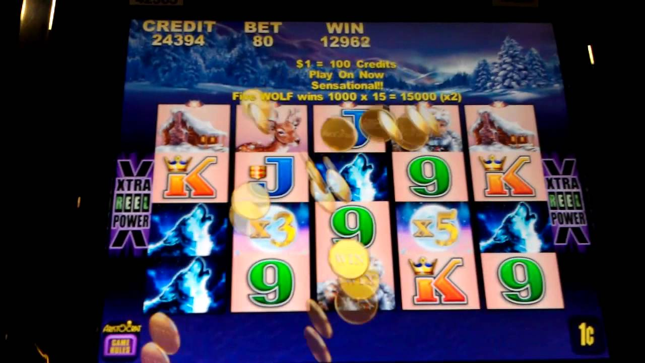 free timber wolf online slot games