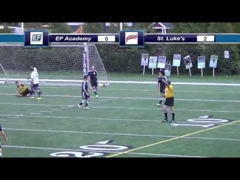 Boys Varsity Soccer vs. EF Academy 10/15/14 [Highlights] - 10/17/2014