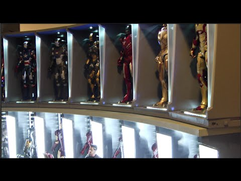 Building your very own House Party Protocol with the Hot Toys Iron suits.