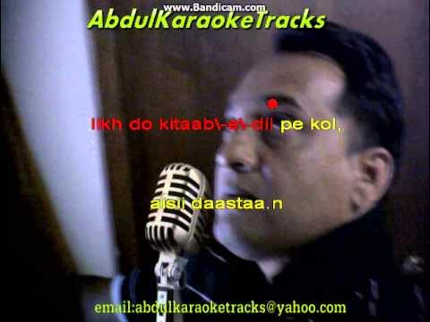 Aao Huzur Tumko karaoke