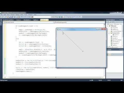 9. díl -- Přidávání dalších dílků k ocasu, následování cesty (Programování her v XNA)