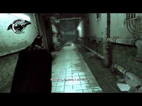Batman Arkham Asylum- Scarecrow 1st Meeting HD