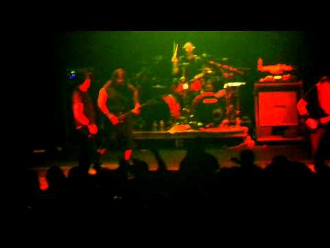 Fear Factory- Powershifter- Noise in the Machine Tour- Gramercy Theatre, NY- 5/13/12