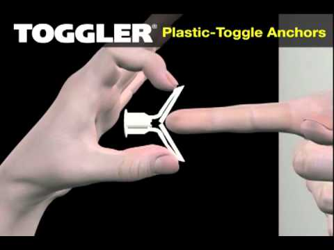 TOGGLER® Hollow-Wall Anchors