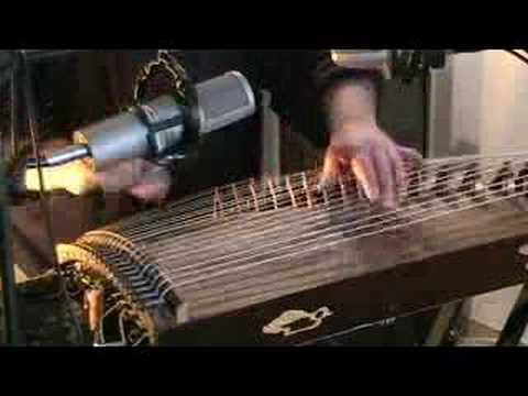 Chinese Zither/Guzheng Jam (by Bradley Fish) bradleyfish.com Video