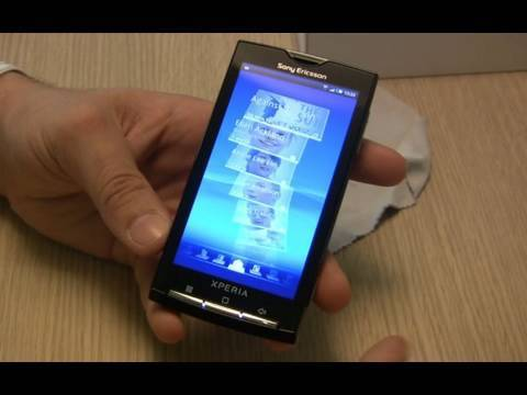 Sony Ericsson XPERIA X10 preview  ENG hands-on