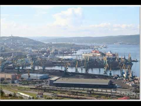 Port of Murmansk,Russia