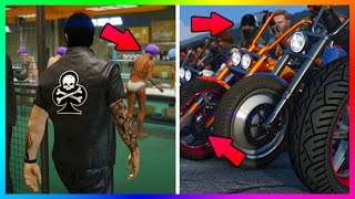 NEW GTA 5 DLC FEATURES, HIDDEN DETAILS & EVERYTHING YOU MISSED IN GTA ONLINE BIKERS UPDATE REVEAL!