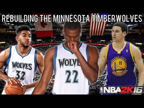 NBA 2K16 MyLEAGUE: Rebuilding the Minnesota Timberwolves!