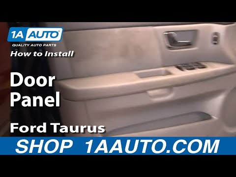 How To Install Replace Door Panel Ford Taurus 00-07 1AAuto.com
