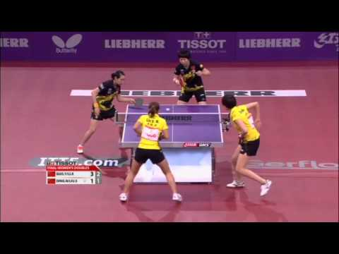 WTTC 2013 Highlights: Ding Ning/Liu Shiwen vs Li Xiaoxia/Guo Yue (Final)