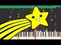 IMPOSSIBLE REMIX - Shooting Stars Meme - Piano Cover - Bag Raiders Mp3