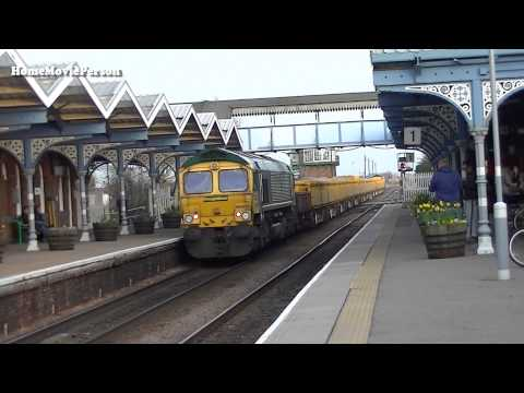 Ely to Peterborough passenger and engineers workings filmed in the March Area on the 8th March 2014. In order of appearance the locations that feature are; C...