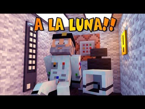 Minecraft   VIAJE A LA LUNA! NO Mods   Minecraft Vanilla