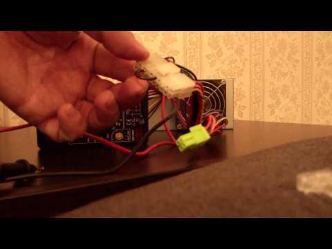 Видео как проверить компьютер мультиметром
