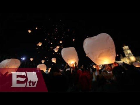 Festival de globos de cantoya en Chalco / Todo México