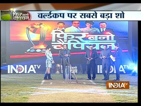 Cricket World Cup 2015: Sehwag Predicts Who will Play Semi-finals in this World Cup - India TV
