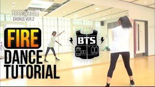 Full Bts 방탄소년단 Fire 불타오르네 Dance Tutorial