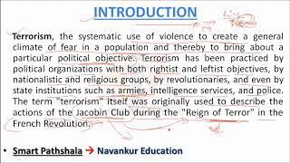English   ESSAY ON TERRORISM HD