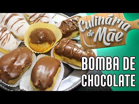 Culinária de Mãe #20 - Bomba de Chocolate e Creme