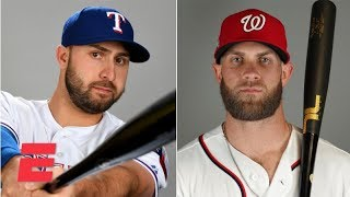 Joey Gallo: I protected Bryce Harper in our 8-year-old baseball team's lineup | MLB on ESPN
