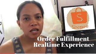 Fullfilling Shopee Order + Ninja Van parcel pick up
