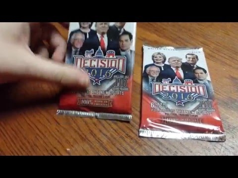 Decision 2016 Political Trading Cards ( Retail Edition )