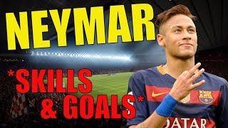 Neymar Jr ● Crazy Skills & Goals ● In The Air ● King Of Dribbling ● 2017