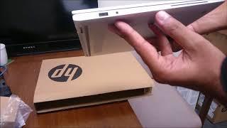 HP Elitebook X360 G2 laptop/ultrabook unboxing