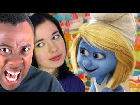 Rants - SMURFS 2 TRAILER REVIEW with NOSTALGIA CHICK