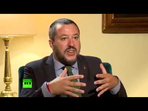 INTERVISTA DI MATTEO SALVINI A RUSSIA TODAY