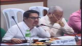 #Balikbayan Boxes Committee on Ways and Means Cynthia Villar Part 3
