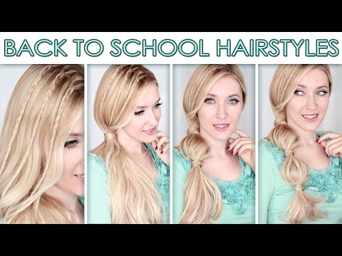 Back to school hairstyles 2014 ★ Cute and quick