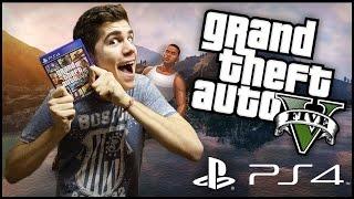 GTA 5 GamePlay na Playstation 4! [HAVING FUN MATE]