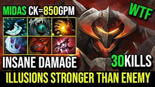 Insane Damage [Chaos Knight] His illusions Stronger Than Enemy Carry 30KIlls 850GPM By Jahan DotA 2