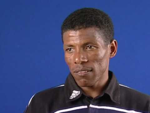 Interview with Ethiopian long distance running legend Haile Gebrselassie