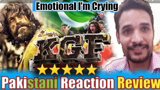 K.G.F Movie  Review | Rocking Star yash | by Pakistani Reacts!!