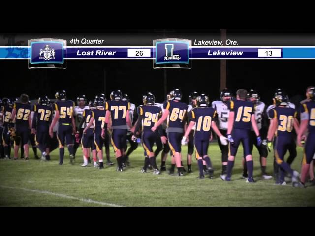 LHS Football highlights: Lost River at Lakeview 9-05-2014