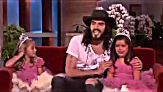 Sophia Grace & Rosie Meet Russell Brand on Ellen