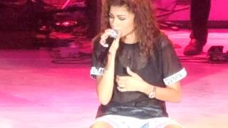 "Zendaya Video - Zendaya's Concert gone wrong! Live at LA County Fair ""Too Much"" (Zapped)"