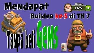 download lagu Cara Mendapatkan 5 Builder Di Th-7 Tanpa Beli Gems gratis
