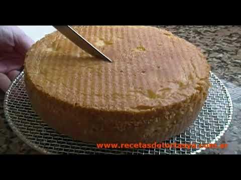 Torta de Vainilla con Manteca (Mantequilla)- Recetas de Tortas YA!