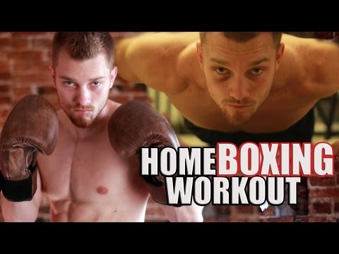 Home Boxing Workout Routine Image 1