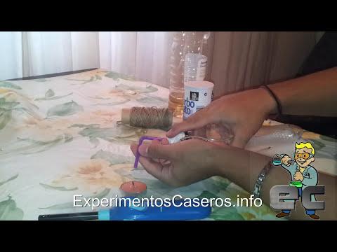 El extintor casero (Experimentos Caseros)