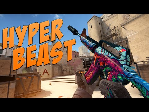 Cs:go - M4a1-s | Hyper Beast Gameplay video